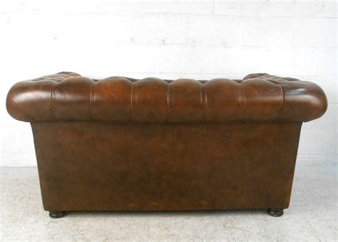 modern leather chesterfield sofa unique mid century modern style tufted leather
