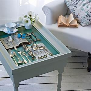 Une Table Basse Comme Une Vitrine Marie Claire