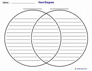 Venn Diagram Template Using Two Sets