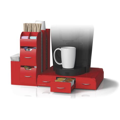 """Limited time sale easy return. Mind Reader """"Combine"""" 2-Piece Single Serve Coffee Pod Drawer and Condiment Organizer Station ..."""