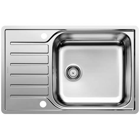 compact kitchen sinks stainless steel blanco lantos xl 6 s if compact stainless steel kitchen sink 8294