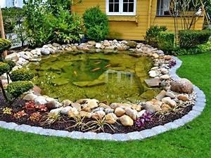 Kleiner Teich Im Garten : garten teich ein schlammfreier gartenteich garten mit teich bilder ~ Markanthonyermac.com Haus und Dekorationen