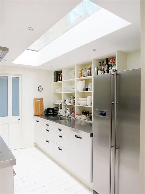 Narrow Kitchen Ideas Home by 25 Captivating Ideas For Kitchens With Skylights