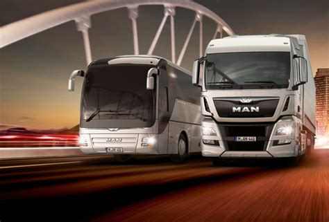 lion   man truck bus product logo man se