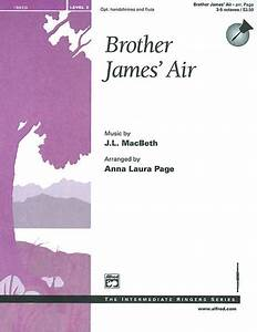 Brother James' Air Sheet Music By Anna Laura Page - Sheet ...