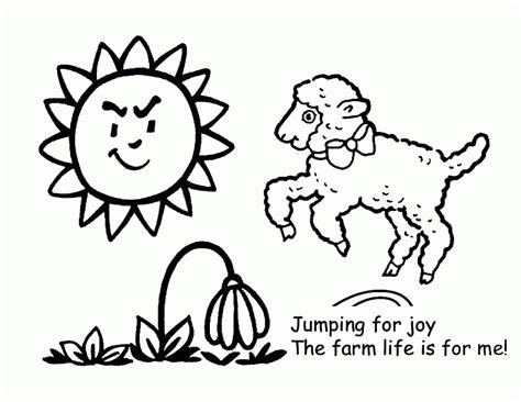 preschool farm coloring pages coloring home 452 | rcnRgj4Li
