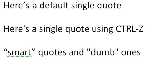 smart quotes in word quotesgram