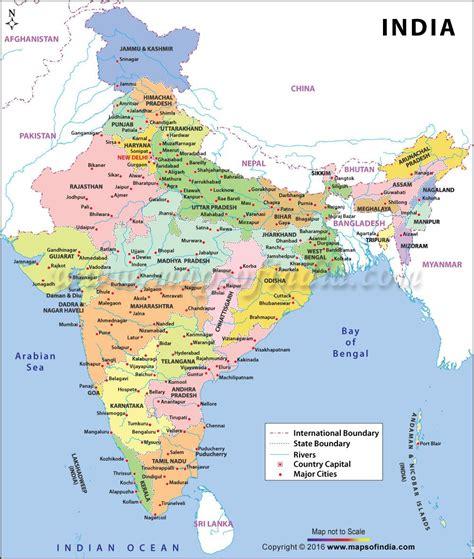 large color map  india baaten gyan ki   india