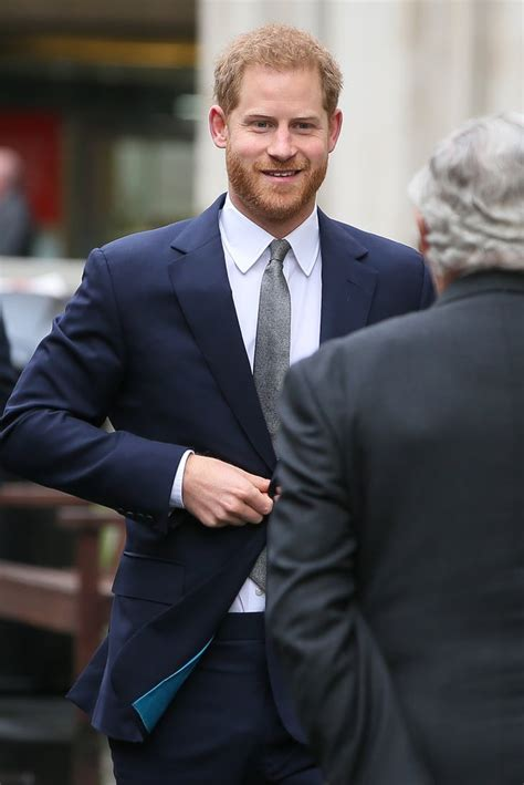 Prince Harry Visits King's College London March 2019 ...