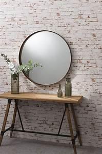 Runde Spiegel Mit Rahmen : die besten 25 runde spiegel ideen auf pinterest flur spiegel halle und eingang ~ Bigdaddyawards.com Haus und Dekorationen
