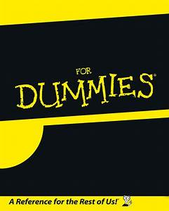 For dummies blank template imgflip for For dummies template book cover