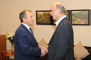 Bassil Meets Geagea, Vows 'Real National Unity' if Aoun ...