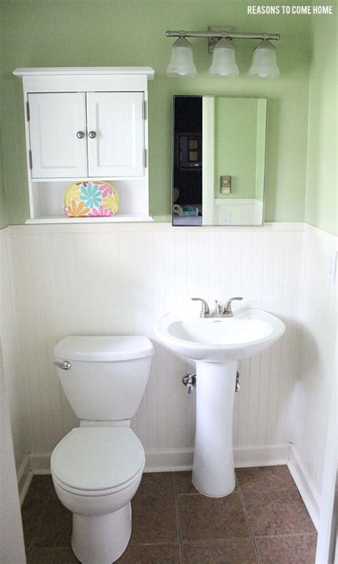 half bathroom ideas for the home pinterest