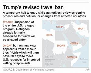New travel ban drops Iraq but keeps 6 other majority ...