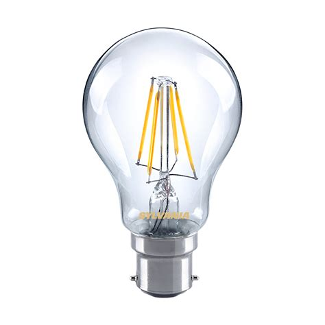 sylvania 5w led gls traditional light bulb b22 bc warm