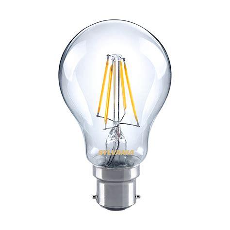 sylvania 5w led gls traditional light bulb b22 bc warm