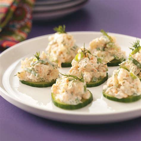 appetizers recipes cucumber shrimp appetizers recipe taste of home