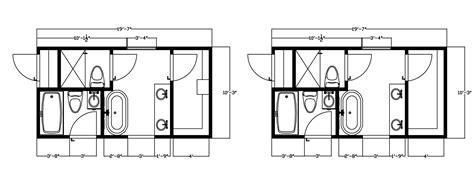 His And Bathroom Floor Plans by 10x12 Master Bath Floor Plans 10x12 Master Bath Floor