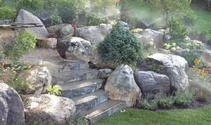 Große Steine Für Garten : gartensteine ideen wie sie dem garten einen sch nen look durch steine verleihen ~ Buech-reservation.com Haus und Dekorationen