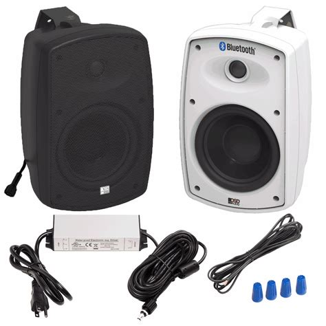 Outdoor Speaker Cabinet by Btp525 Wireless 5 25 Quot Bluetooth 174 2 Way Outdoor Patio
