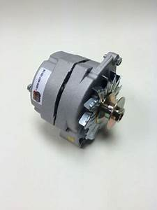 Alternator One Wire 1 Wire 12 Volt Positive Ground 60 Amp With 3  4 U0026quot  Wide Pulley