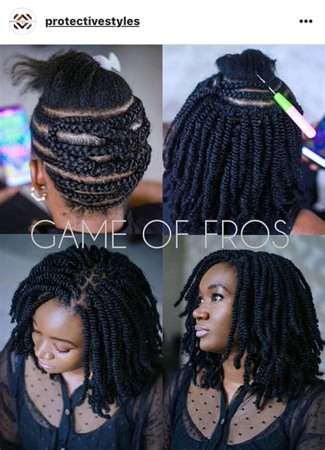 protective styles protective styles   crochet