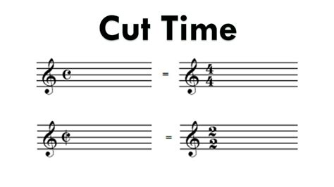Music duple meter in which the half note is the unit of time. What is Cut Time? Music Theory Lesson - Time Signatures - YouTube