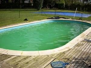 Eau De Piscine Trouble Apres Chlore Choc : eau verte traitements effectuer contre les algues ~ Dailycaller-alerts.com Idées de Décoration