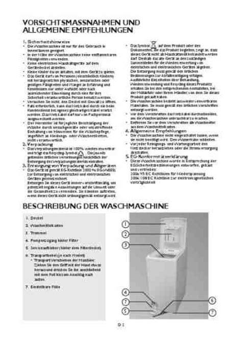 kohlen für waschmaschine bauknecht wat plus 510 diwaschmaschinen pdf anleitung