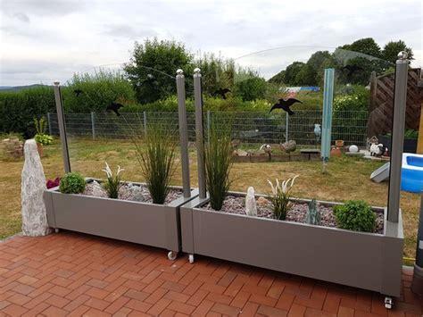 terrassen windschutz glas windschutz aus glas f 252 r garten und terrasse