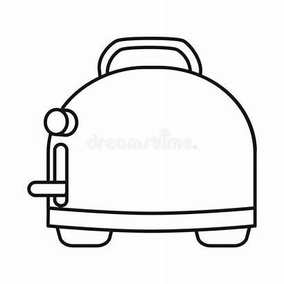 Toast Toaster Object Element Symbol Isolated Menu