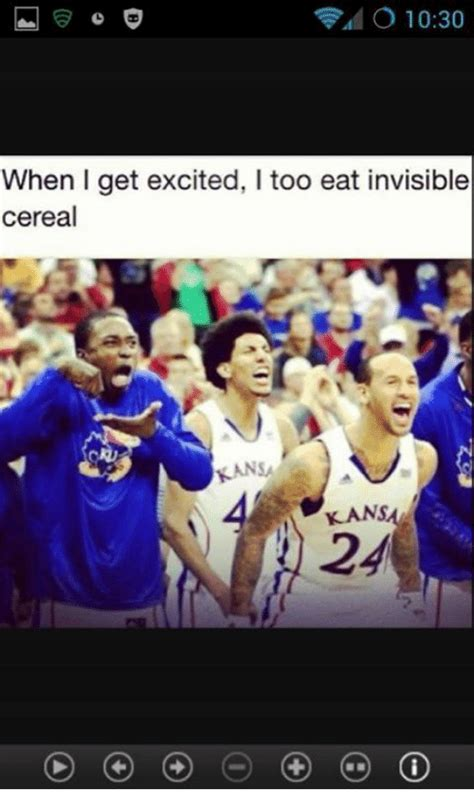 Invisible Cereal Meme - kansa 24 when i get excited i too eat invisible cereal meme on me me