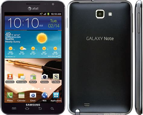 Samsung Galaxy Note I717 Pictures, Official Photos