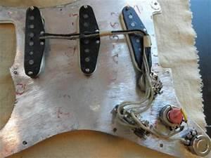 1963 Orig Fender Strat Picks Pots 3 Way Switch Pre Cbs Best