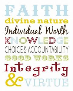 Lds Young Women... Value Of Youth Quotes