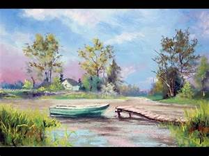 PanPastels and Soft Pastels Landscape - YouTube