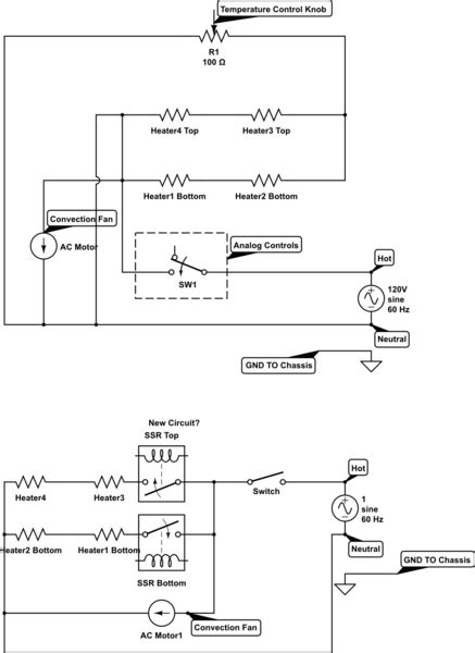 temperature connecting solid state relays  ac heating