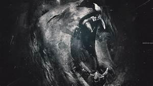 Lions Roar Monochrome HD Wallpaper » FullHDWpp - Full HD ...
