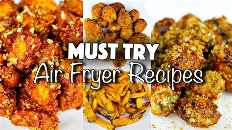 air recipes fryer food healthy vegan try must junk