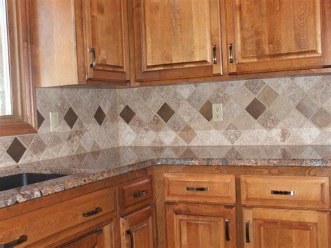 Diagonal Tile Backsplash  Signature Services Group