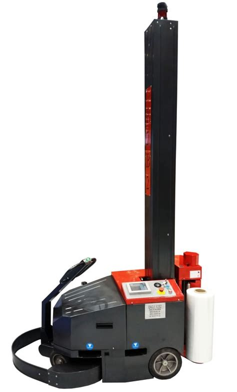 eagle rb robotic mobile stretch wrap machine