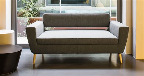 serie 50w by la cividina modern lobby seating linea