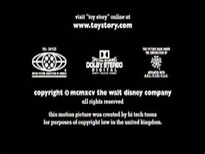 Closing To Toy Story 2010 DVD
