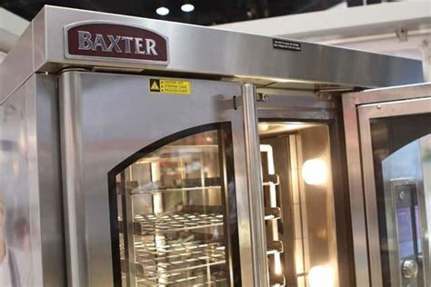 hobarts baxter mini rotating rack oven fastcasual