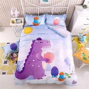 Girls, Purple, Blue, And, Orange, Cretaceous, Dinosaur, Print