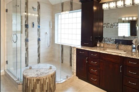 Tech Cabinets by Hi Tech Master Bath With Kabinart Arts Crafts Cabinets