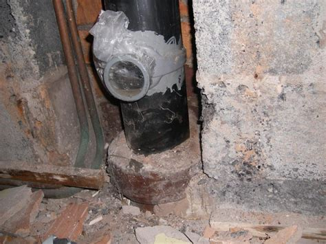 boss removal seal   soil pipe diynot forums