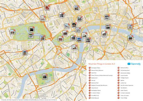 London Tourist Map Printable