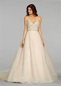 Empire spaghetti thin strap lace wedding dress ieie bridal for Thin strap wedding dress