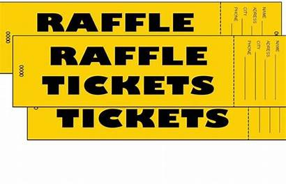 Raffle Ticket Clip Clipart Winner Cliparts Tickets